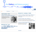 Dalton Digital Archive Print Screen